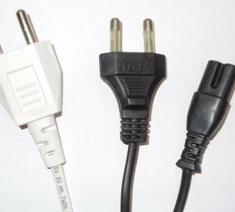 2 Pin Power Cords